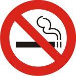 Uzlīme - aizlieguma zīme - smēķēt aizliegts