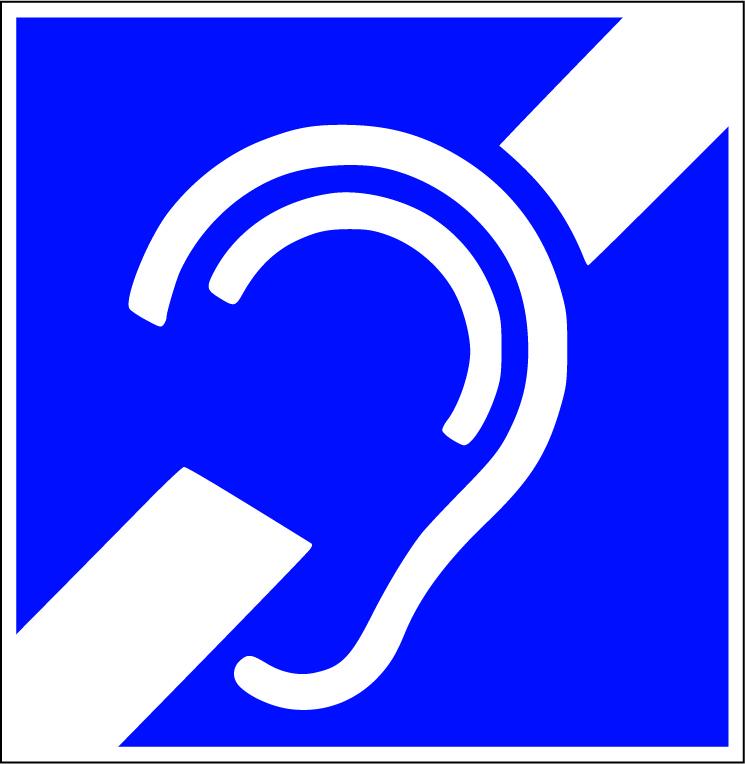 LATSIGN uzlime - Atpazīšanās zīme – Vadītājs nedzirdīgs vai kurlmēms