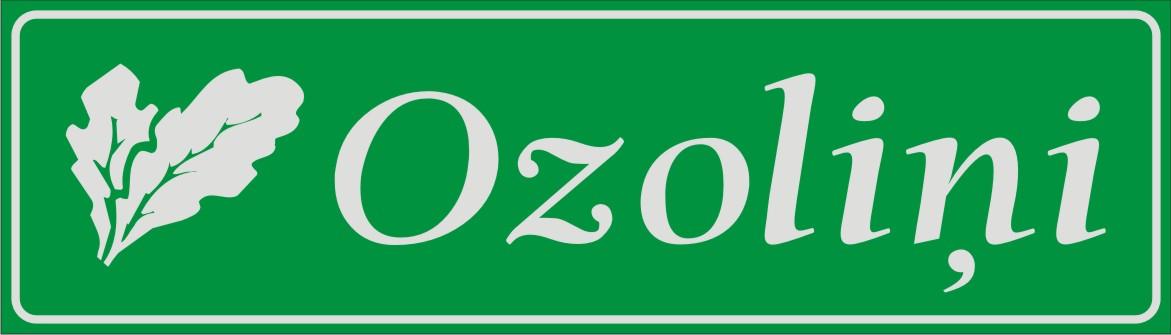 Māju nosaukuma plāksne (3) - atstarojošs baltā krāsā uzraksts uz zaļa fona - 160x560mm