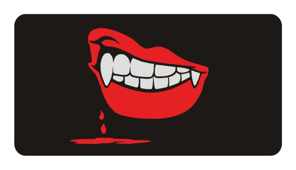 LATSIGN-brīdinājuma-zīme-Halloween_Vampira-sievietes-mute_114x220