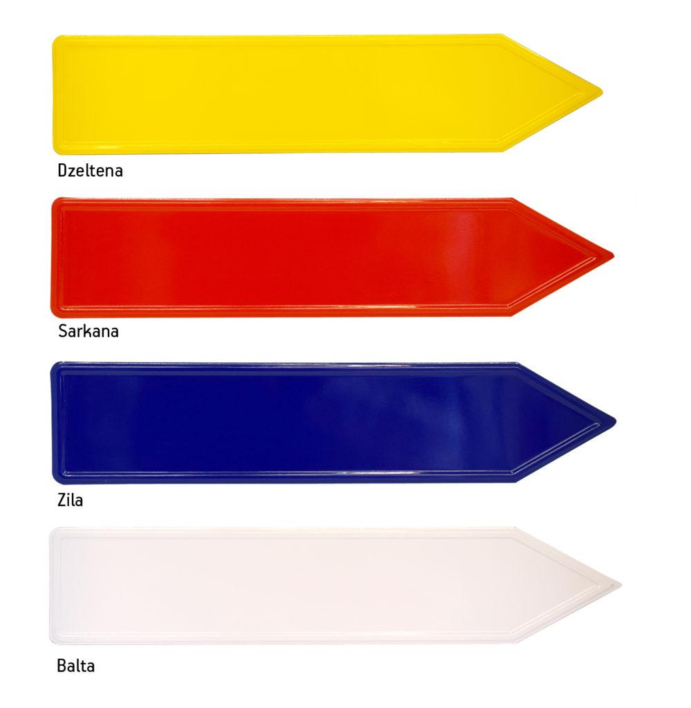 LATSIGN Bultas veida norāžu fona krāsas