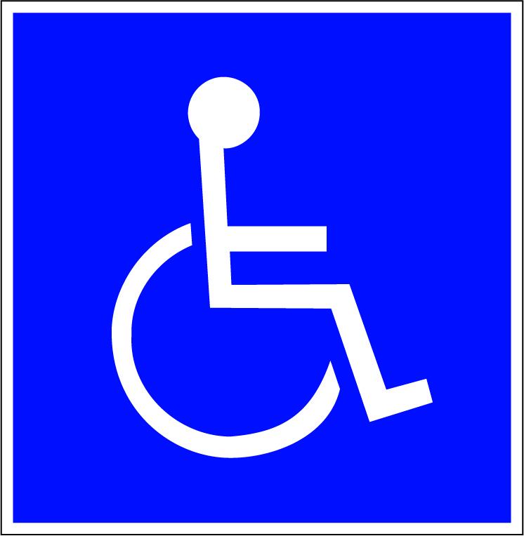 LATSIGN uzlīme - Atpazīšanās zīme invalidiem
