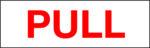LATSIGN uzlīme durvīm - Pull