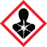 LATSIGN uzlīme ADR kravas pārvadāšanai - Bīstams veselībai