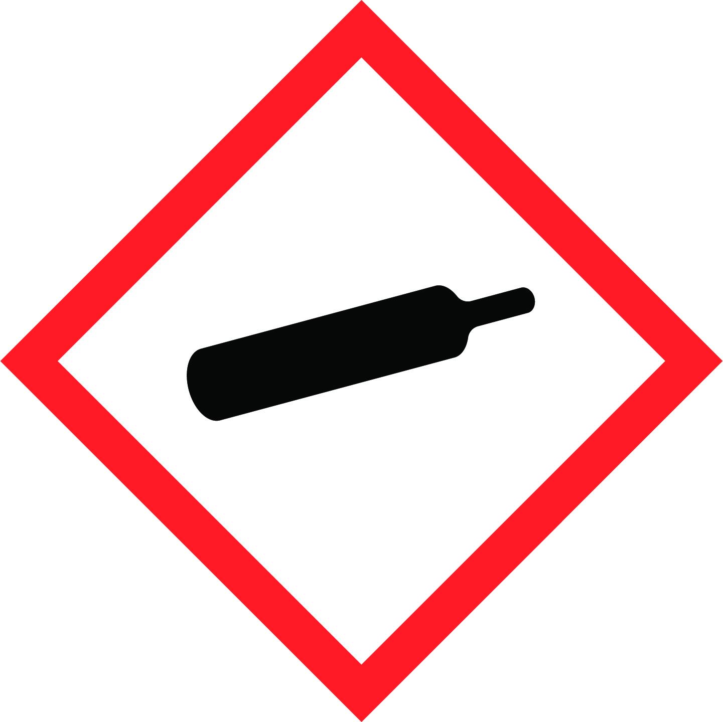 LATSIGN uzlīme ADR kravas pārvadāšanai - Gāzes zem spiediena