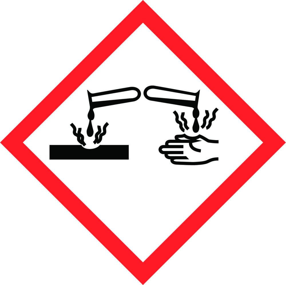 LATSIGN uzlīme ADR kravas pārvadāšanai - Kodīgas vielas
