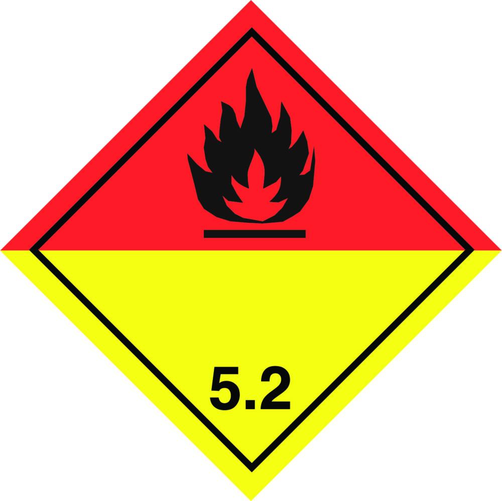LATSIGN uzlīme ADR kravas pārvadāšanai - Organiski peroksīdi