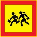 LATSIGN Transportlīdzekļu pazīšanas zīme - Bērnu grupa