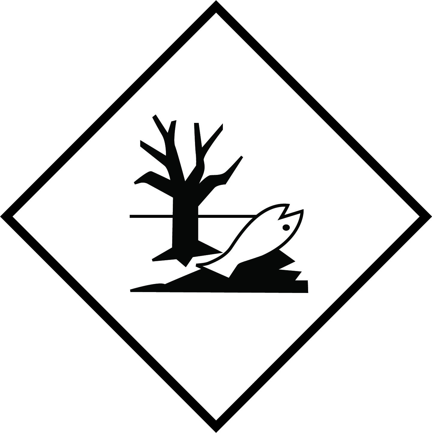 LATSIGN uzlīme ADR kravas pārvadāšanai - Videi kaitīgas vielas