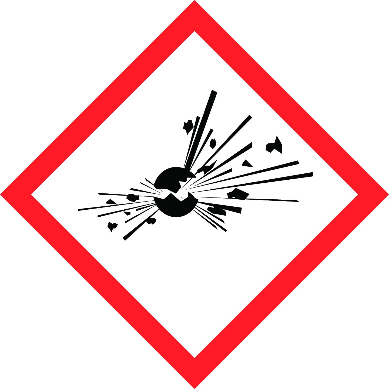LATSIGN uzlīme ADR kravas pārvadāšanai - Sprādzienbīstams materiāls