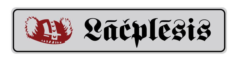 LATSIGN Dekorativa varda zīme - Lāčplēsis