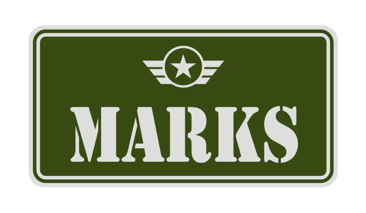 LATSIGN Informatīvā ratiņu vārda numura zīme zaļā krāsā ar atstarojošu fonu - Marks-